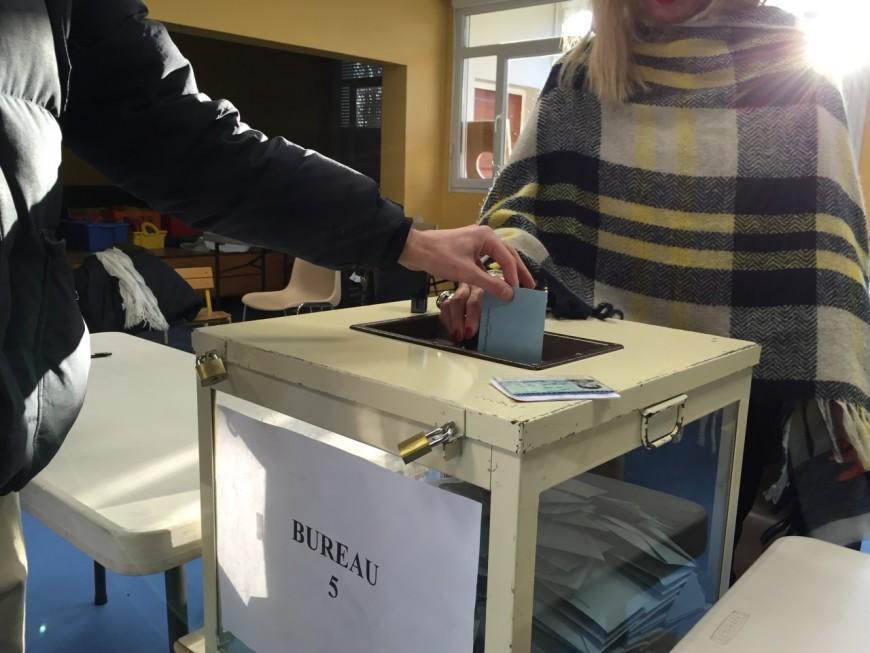 Législatives : moins d'un électeur du Rhône sur deux est allé voter