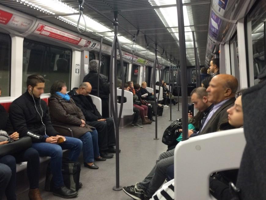 Le métro B cessera de circuler plus tôt tous les lundis jusqu'en juin