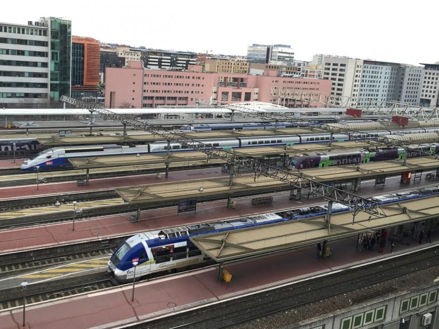 Malaise mortel dans un train en gare de Lyon Part-Dieu