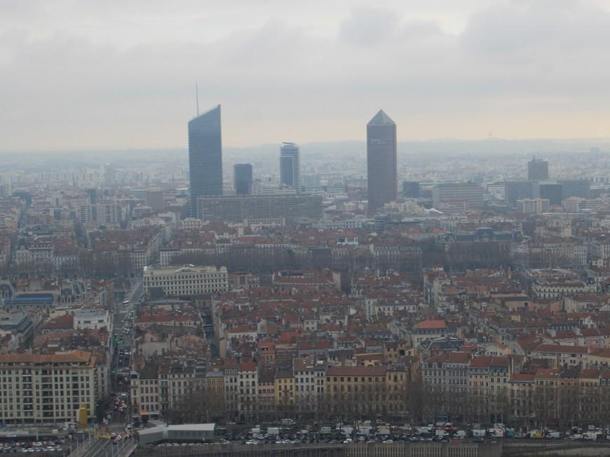 Lyon : avis de grosse pollution pour terminer l'année