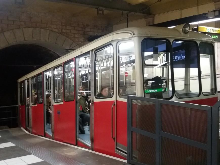 Lyon : le funiculaire Saint-Just de retour en service