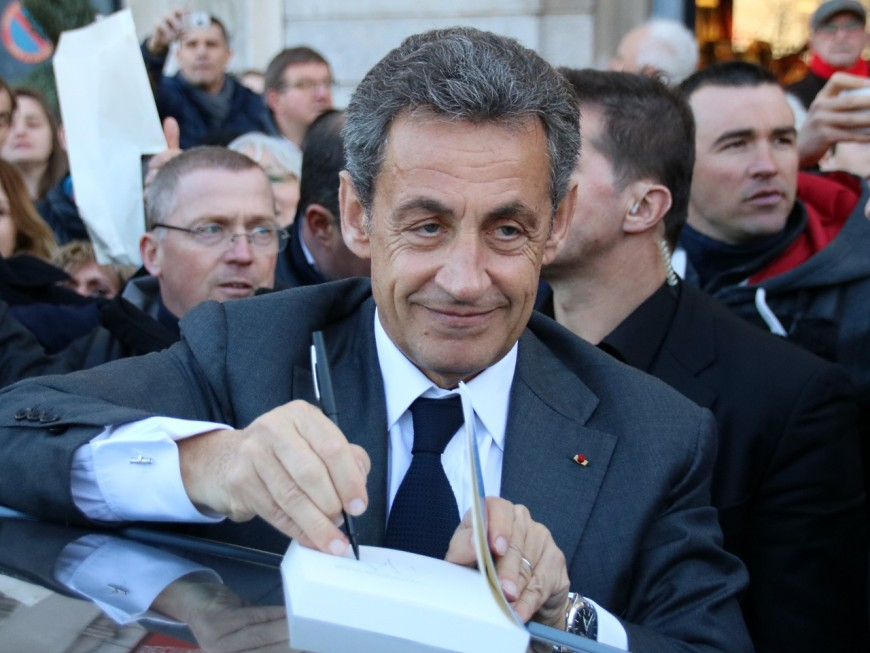 Nicolas Sarkozy passe la journée de jeudi dans la Métropole de Lyon