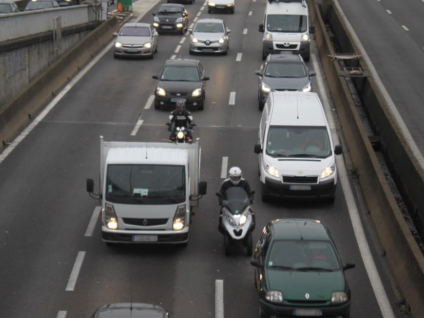 Auvergne-Rhône-Alpes : encore un week-end classé orange sur les routes