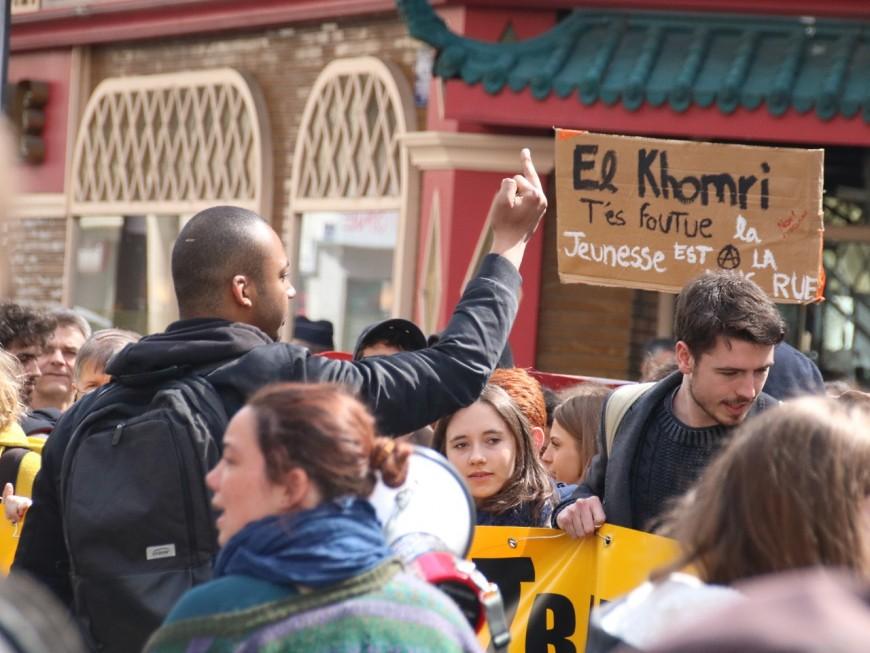 Loi Travail : Lyon accueille les manifestants qui n'ont pas pu monter à Paris