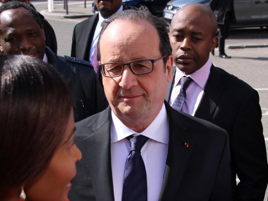 François Hollande à Lyon ce jeudi