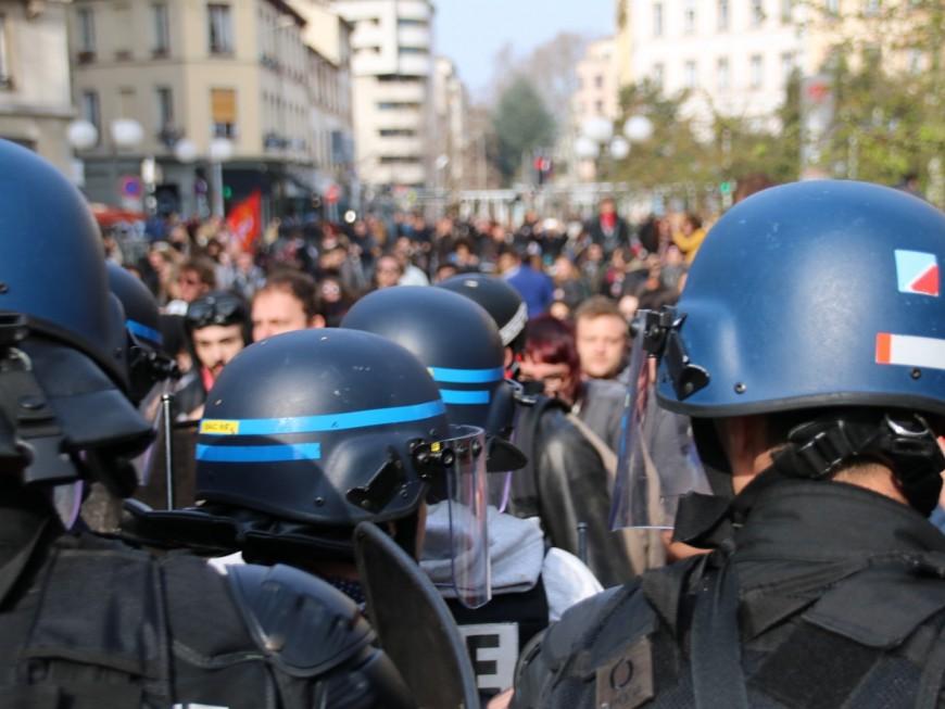 Week-end politique à Lyon : 550 policiers mobilisés