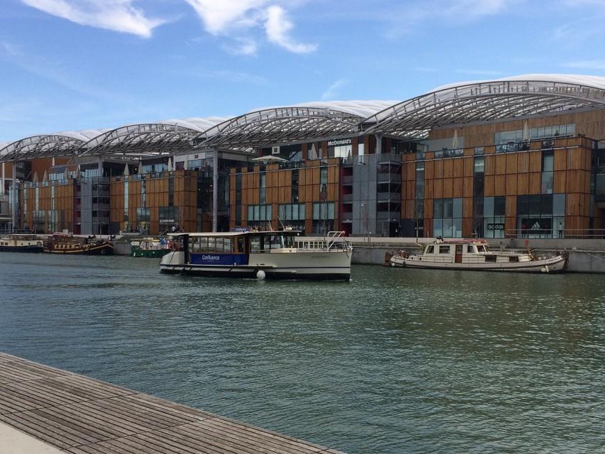Lyon Living Lab Confluence: début des travaux en 2018 de la deuxième phase de Confluence