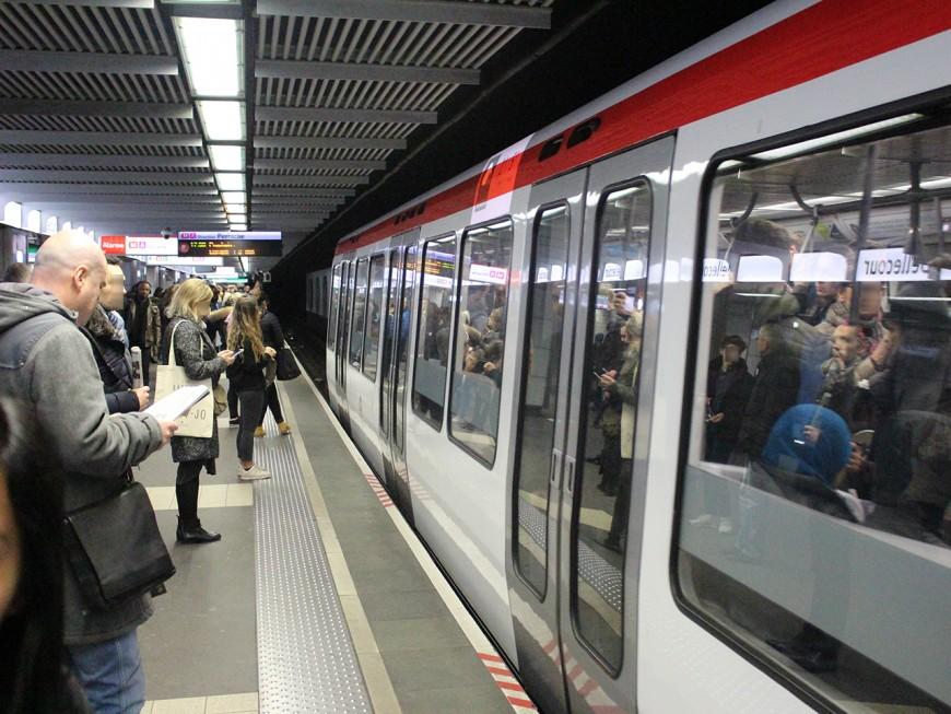 Lyon : panique après l'explosion d'un pneu dans le métro
