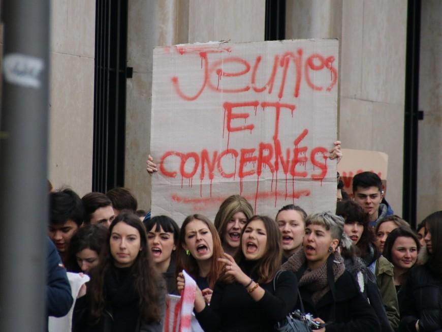 Loi travail : lycéens et étudiants de Lyon mobilisés ce mardi