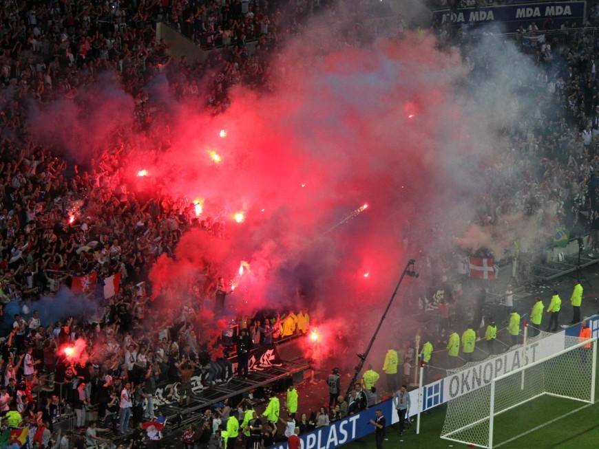 OL : six supporters interdits de stade après les incidents lors d'OL-Nice