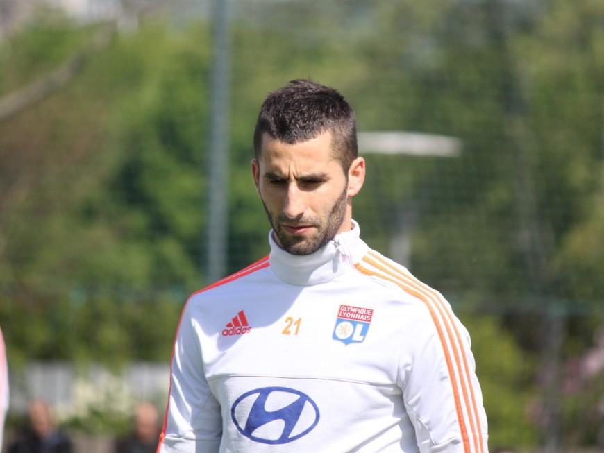 OL : suspendu 4 matchs, Maxime Gonalons ratera le derby
