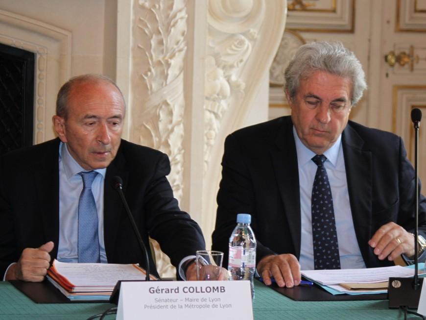 Gérard Collomb renonce finalement à son vaste bureau à l'Hôtel de Ville de Lyon