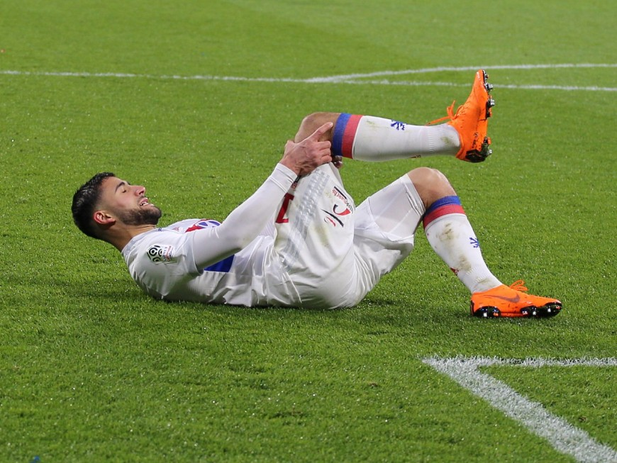 OL : Fekir absent 7 à 10 jours, Rafael forfait deux semaines