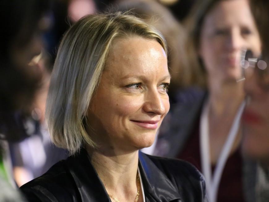 La référente LREM Caroline Collomb sur la touche pendant les européennes 2019