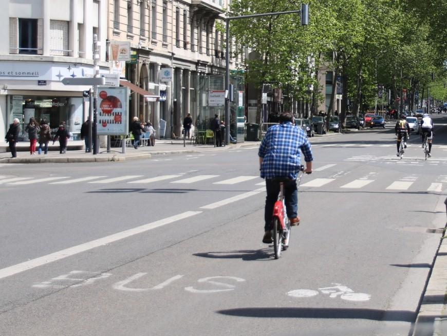 Dans le Rhône, 2,9% des actifs vont au travail en vélo