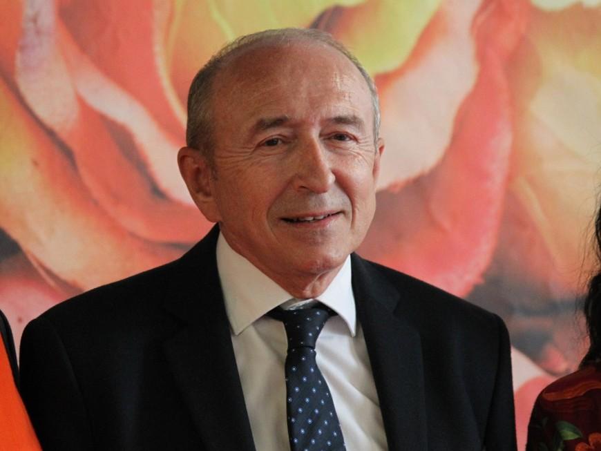 Gérard Collomb évoque un deuil familial pour justifier sa présence à Lyon