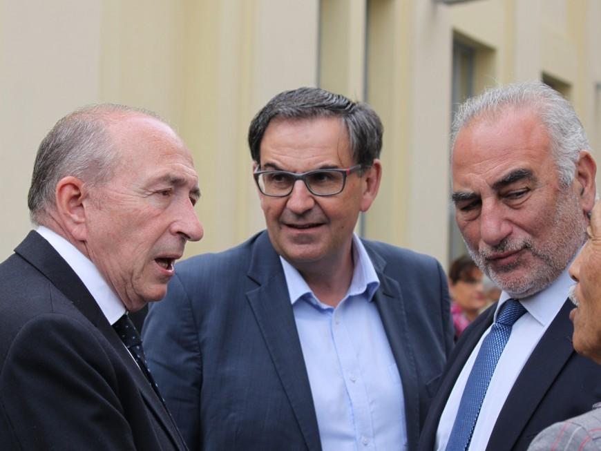 Bain de foule et selfies : Gérard Collomb fait son grand retour à Lyon