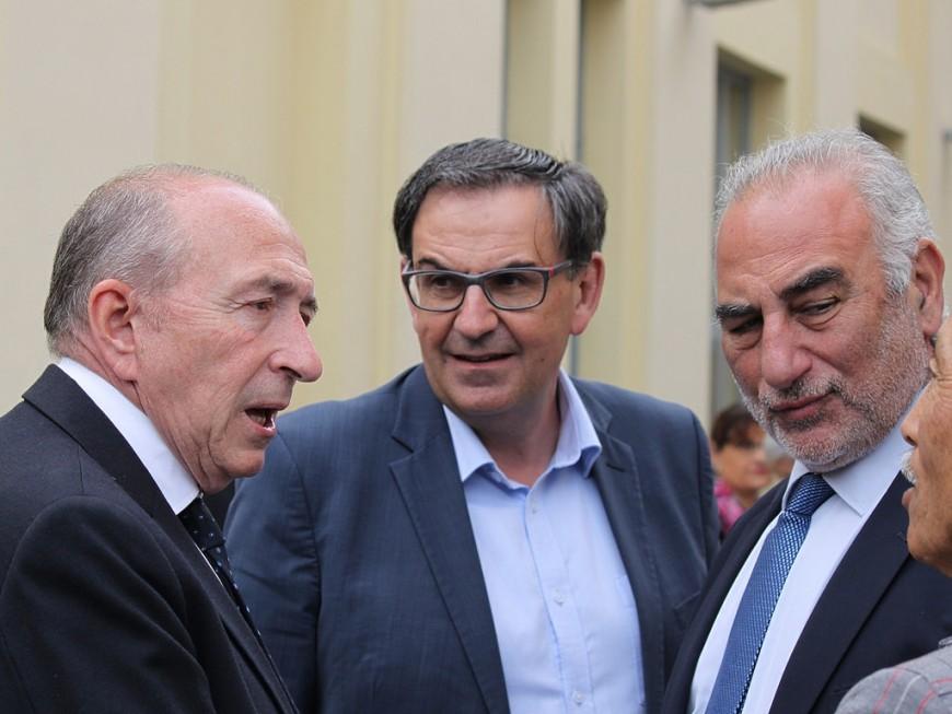 """Pour les Lyonnais, Georges Képénékian et David Kimelfeld devront """"faire de belles choses pour arriver à la cheville de Gérard Collomb"""""""