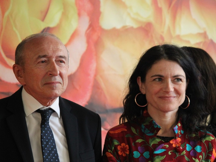 Perrin-Gilbert se demande si Collomb n'est plus socialiste, à l'instar de Macron