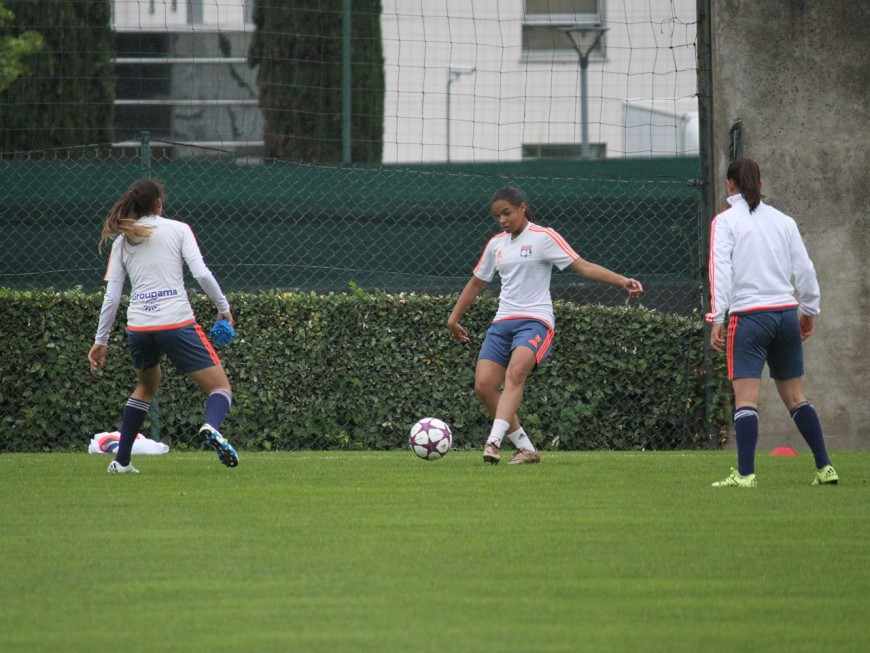 Un match amical avant la reprise pour l'OL féminin