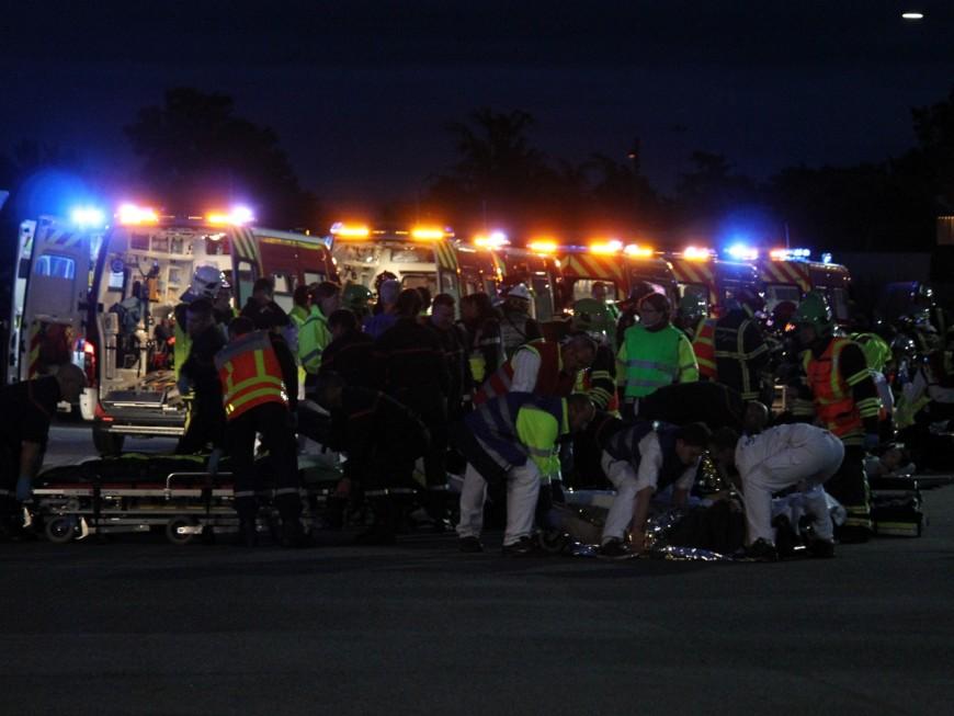 Un violent incendie à Villeurbanne fait 9 blessés dont 2 graves