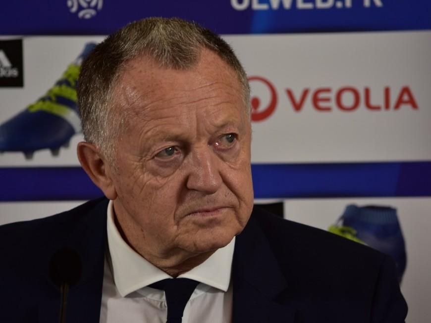 """Jean-Michel Aulas rend hommage à Louis Nicollin : """"il m'a guidé dans le foot professionnel"""""""