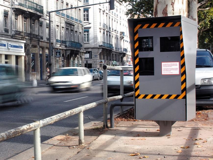 Pierre-Bénite, Saint-Fons… le palmarès des radars qui flashent le plus dans le Rhône