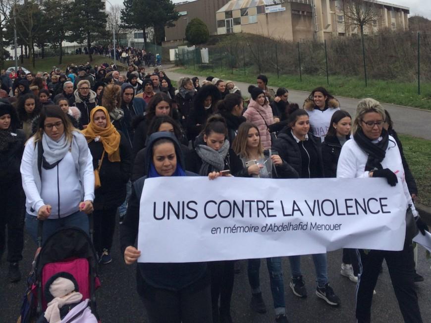 Quinquagénaire décédé à Rillieux-la-Pape : une marche blanche contre la violence