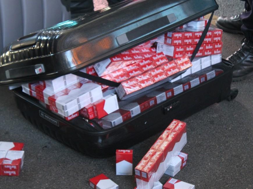 Lyon: de lourdes amendes pour détention de plus de 300000 cigarettes de contrefaçon