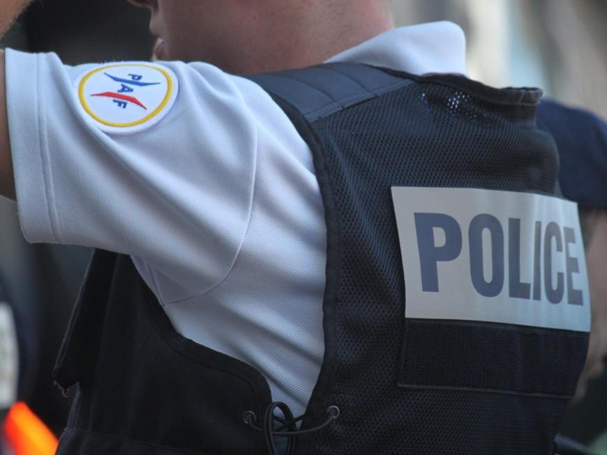 Lyon : la façade de la Police aux Frontières dégradée le 1er mai