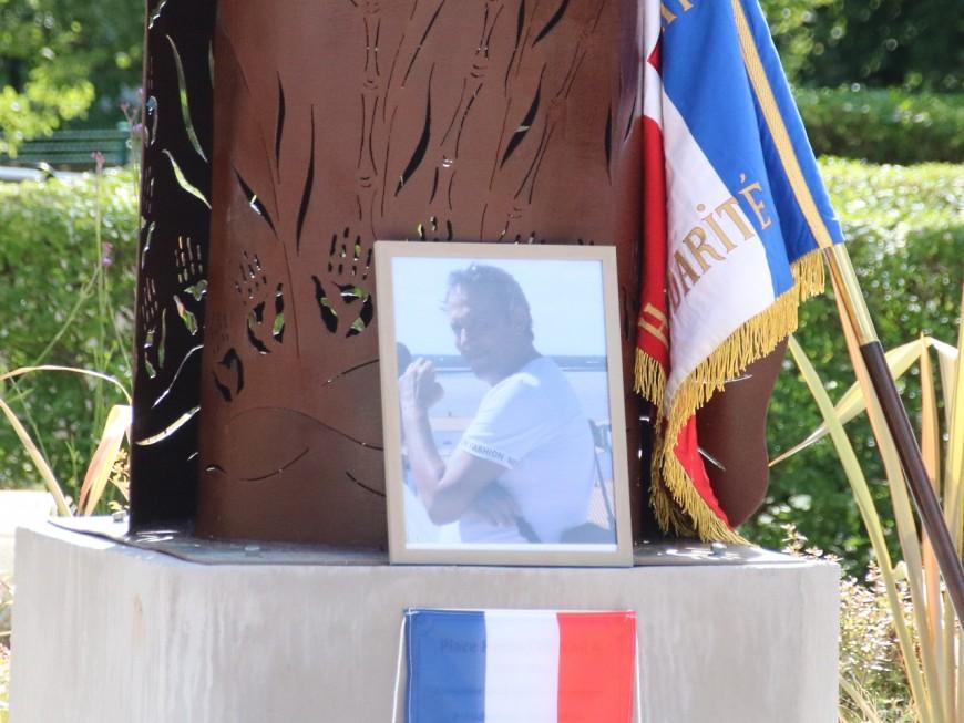 Le jardin hommage à Hervé Cornara pillé à Fontaines-sur-Saône