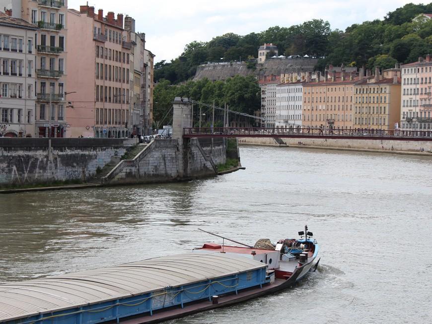 Rhône et Saône : les péniches commerciales en sursis