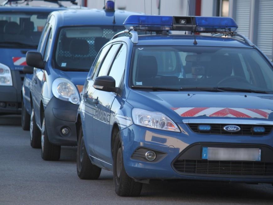 Chasse à l'homme dans l'ouest lyonnais après un accident de la route