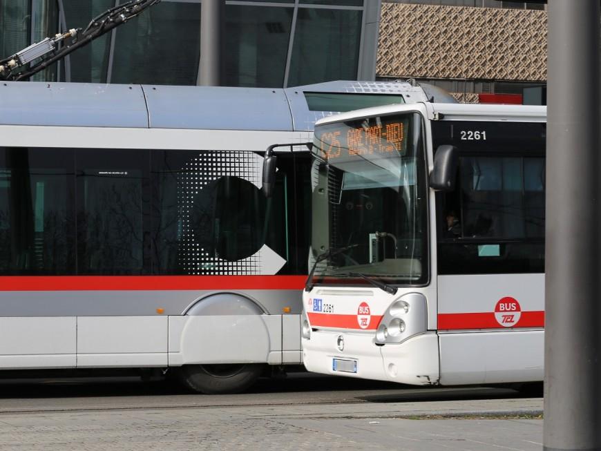 Lyon 5e : un bus articulé heurte le mur de l'institut franco-chinois