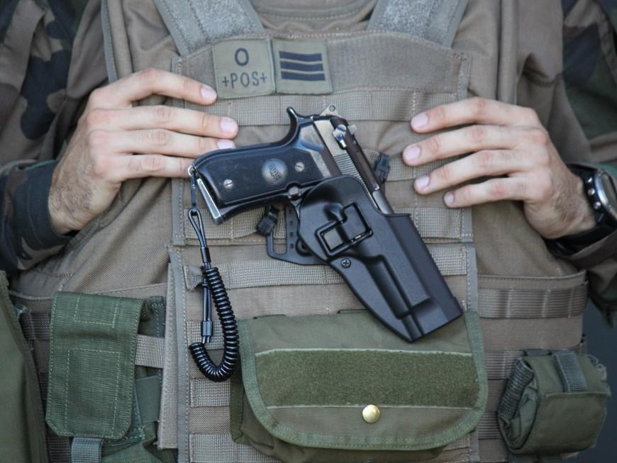 Lyon : il frappe et menace de mort des militaires de la force Sentinelle