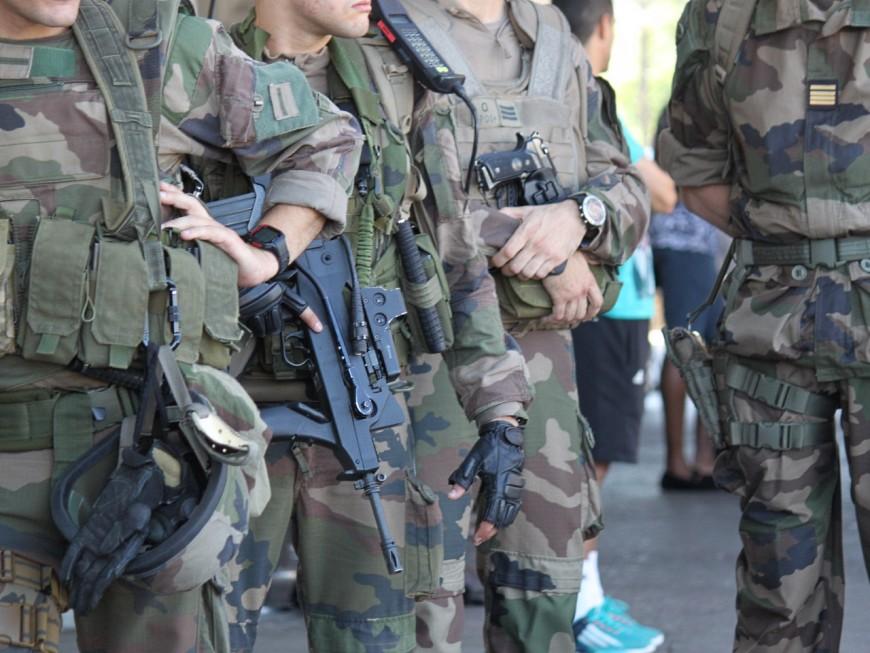 Lyon: le déséquilibré agresse une militaire de l'opération Sentinelle