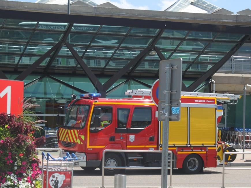 Une fuite de liquide dangereux à l'aéroport Lyon Saint-Exupéry