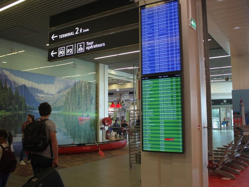 Record de trafic en juillet pour l'aéroport de Lyon Saint-Exupéry