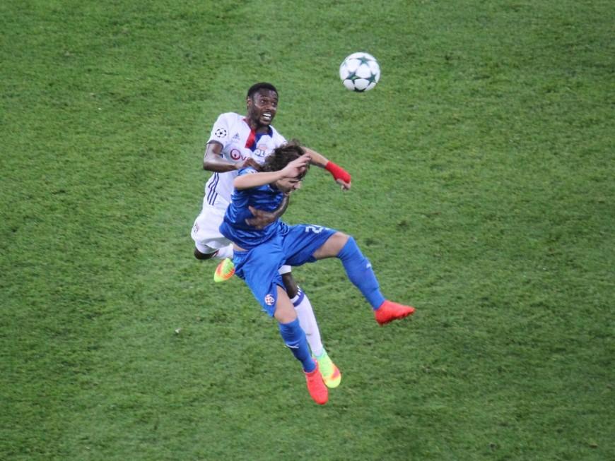 Nkoulou (OL) vainqueur de la Coupe d'Afrique des Nations et buteur en finale