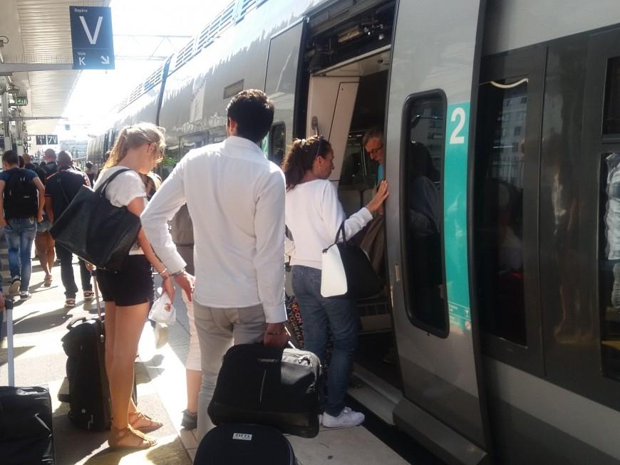 Lyon : un groupe de jeunes Marseillais bloquent un TGV