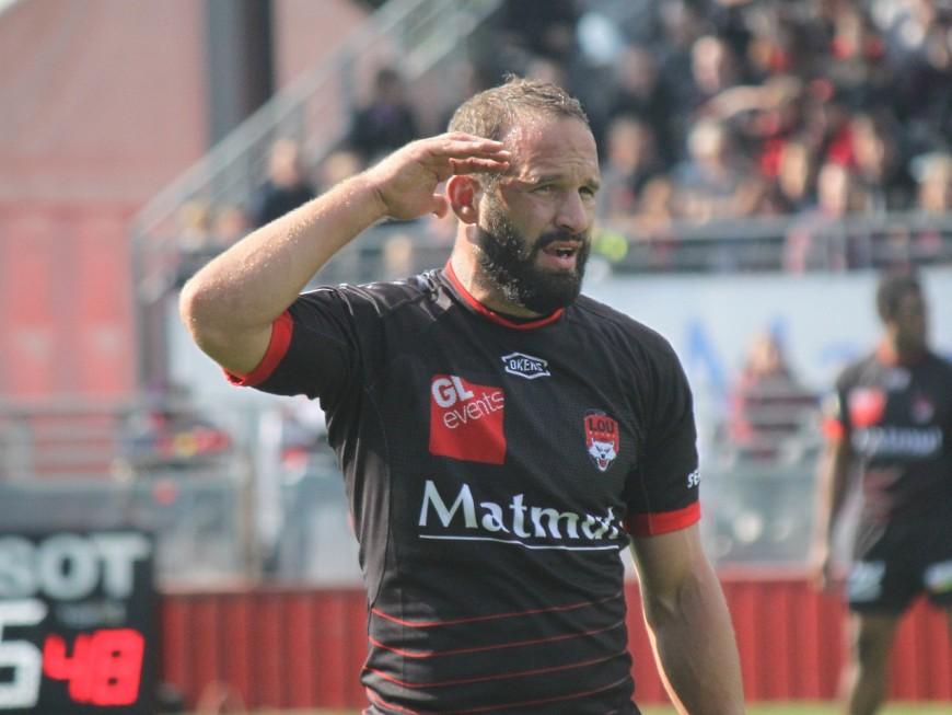 LOU Rugby : Frédéric Michalak blessé jusqu'en novembre