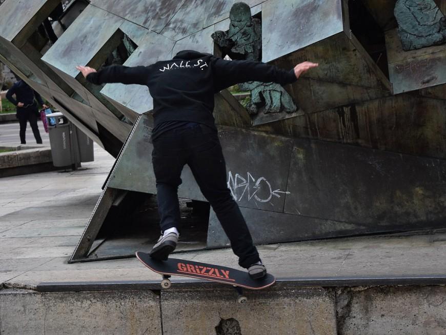 Rénovation de la place Louis Pradel : le collectif de skateurs reçu par la Métropole de Lyon