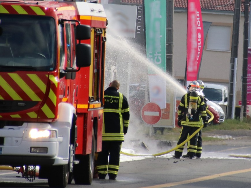 A Saint-Priest, neuf personnes évacuées suite à un incendie