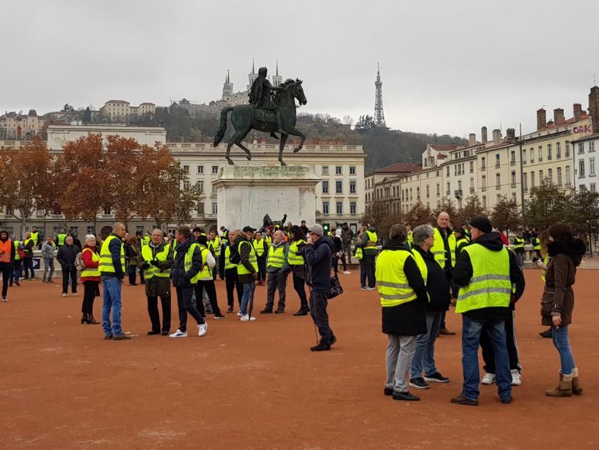 Lyon : une mobilisation plus forte des gilets jaunes pour l'acte VIII