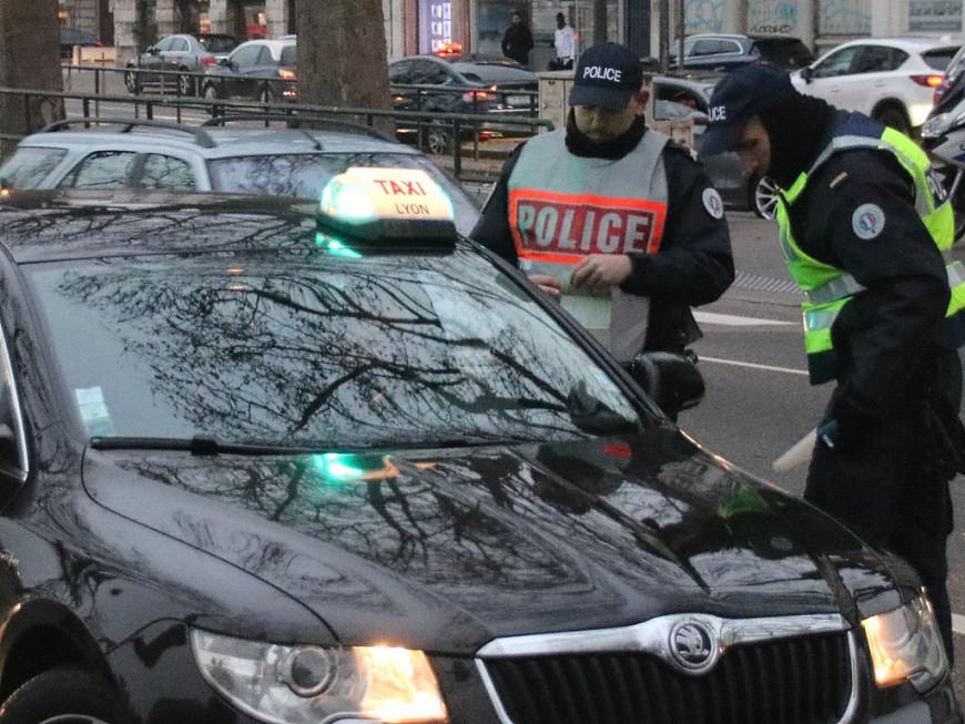 Saint-Genis-Laval : le taxi conduisait à 161km/h