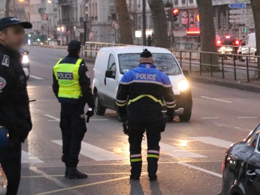 La Mulatière: drogué et sans permis, il fonce sur les policiers