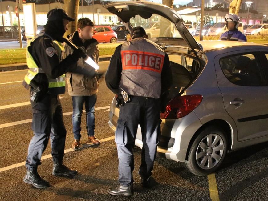 Saint-Sylvestre : contrôles routiers, voitures brûlées, cambriolages au menu des forces de l'ordre