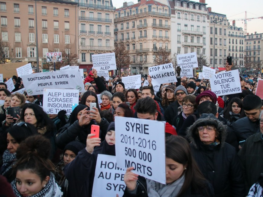 Civils massacrés à l'arme chimique : les Syriens de Lyon mobilisés ce mercredi