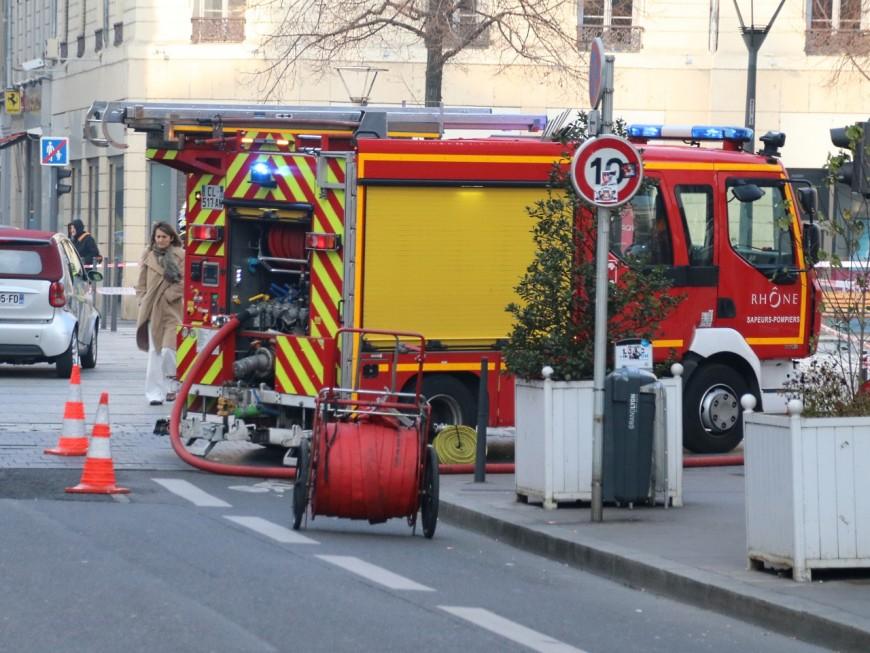 Mouvement de panique sur la presqu'ile de Lyon à cause d'une détonation