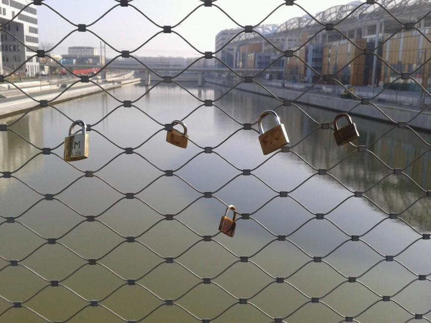 Lyon: les amours se scellent à la Confluence